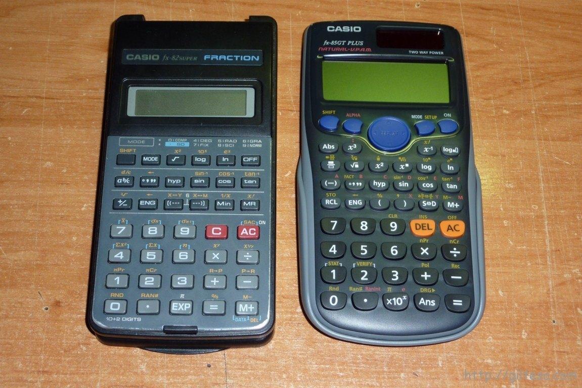 Calculadora Casio FX 85GT Plus - el blog de giltesa