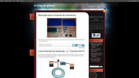el blog de giltesa, Theme 2011-2012