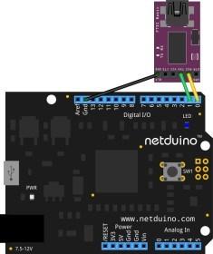 netduino-serial-ttl-module