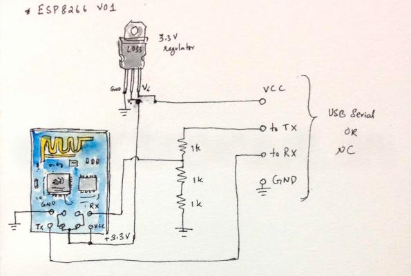 esp8266-circuit