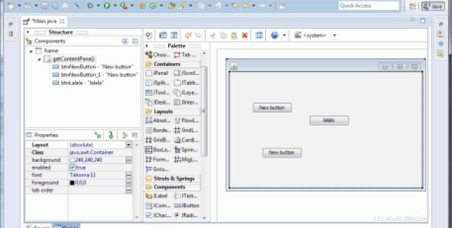 Eclipse Windows Builder Custom Controls