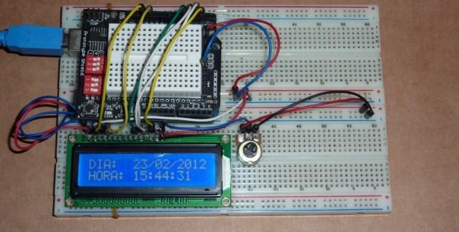 LCD Arduino LiquidDisplay