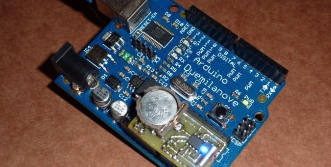 Arduino RTC giltesa